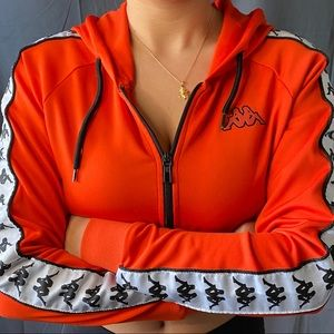 Cropped Kappa Track Jacket